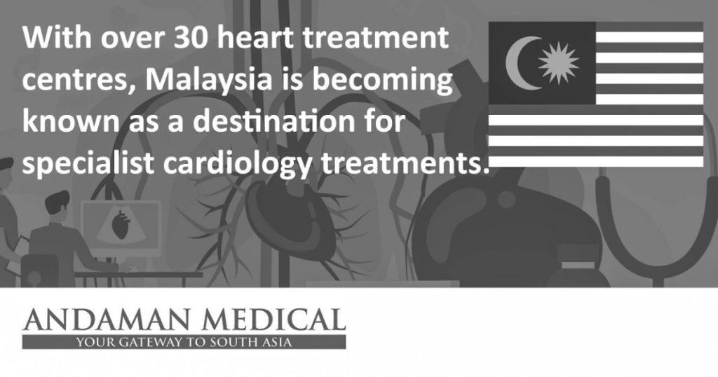 Malaysia destination specialist cardiology treatments