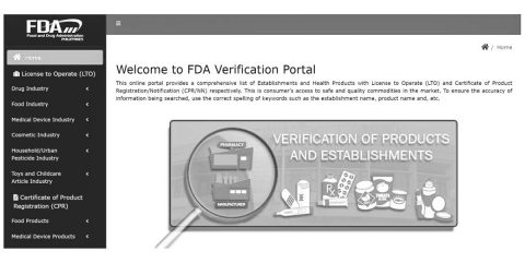 Philippines FDA relaunches verification portal for medical devices